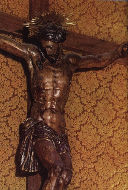 This crucifix detached it's arm and comforted St.Camillus de Lellis