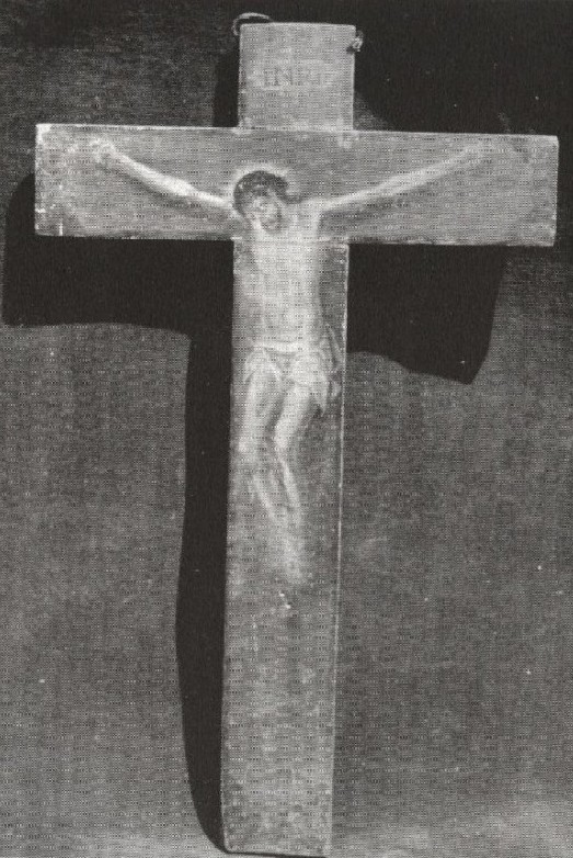 St. Teresa of Avila died with this crucifix in her hands