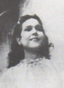 Maria Esperanza as a young girl.