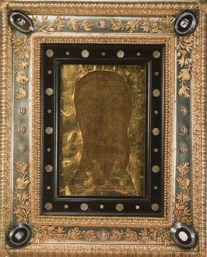 Actual Vatican Veil of Veronica