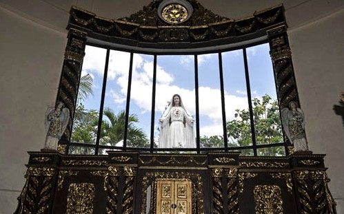 Image result for the shrine of the Mother of the Eucharist and Grace in the Philippines,